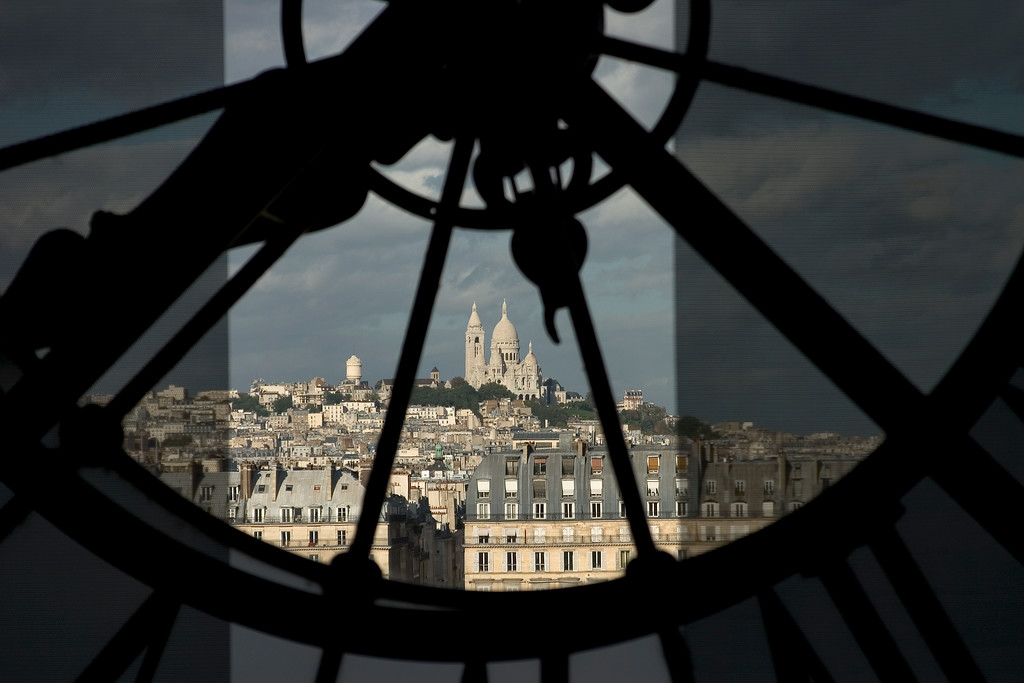 Sacre-Coeur (from Musee D'Orsay)