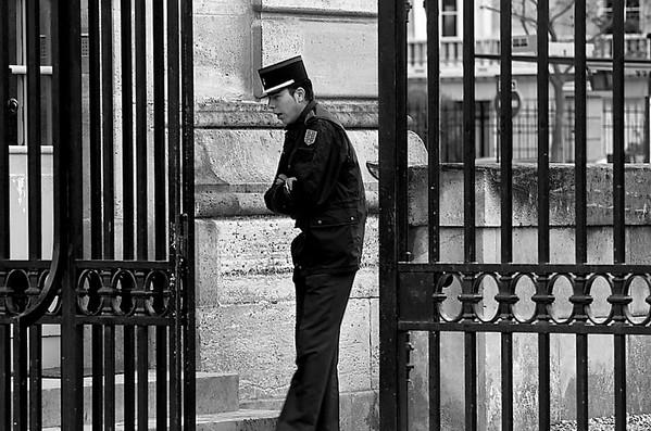 Guard at Work