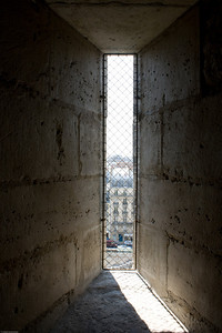 View out from the Notre Dame