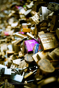 Padlocks, Pont des Arts, Paris