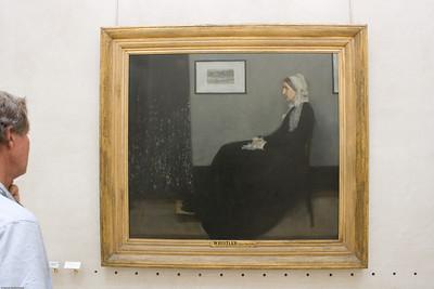 Whistler - the Artist's mother
