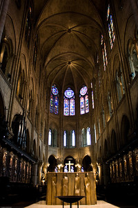 Notre Dame - Altar and Roof