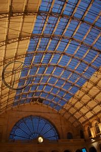 The Gare du Nord. Paris, France.