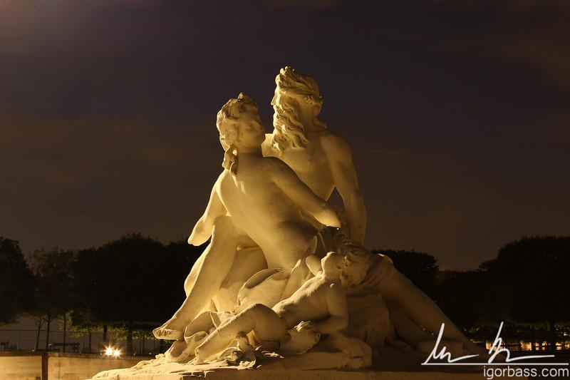 Jardin des Tuileries Statue (Paris, FR)