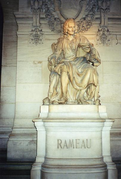 Composer Rameau at l'Opera Garnier