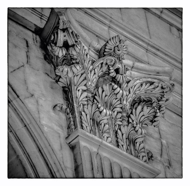 Corinthian columns from the St. Germain des Pre's, in Paris.