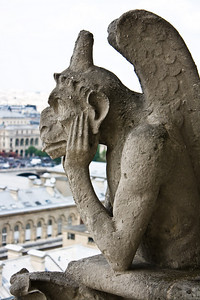 Gargoyles at the Notre Dame