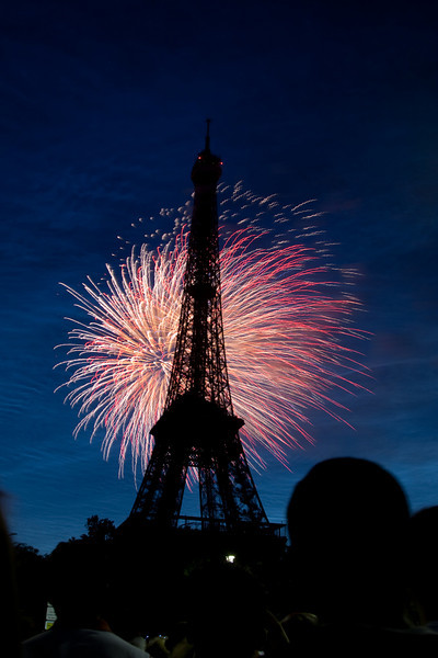 Bastille Day, Paris, Eiffel Tower, Giverny, The Louvre, France