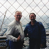 Brother Ed and me atop the Tour Eiffel
