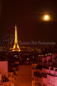 Guess where this was taken from. The red-light district in the foreground. Paris, France.