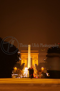 This is the obelisk in the foreground. The road you see is theChamps-Élysées and the Arc de Triomphe in the background. This was shot from the Louvre. Paris, France.