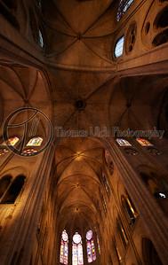 The Notre Dame. Paris, France.