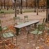 empty chairs at place de la concorde, paris