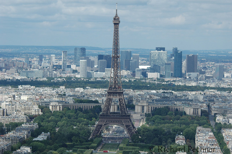 """""""La Tour Eiffel"""" from the top of Montparnasse"""