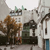 picturesque shops and restaurants in Paris