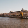 view of musee d'Orsay from across the Seine, Paris