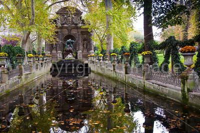 Medici fountain in the Jardin du Luxembourg