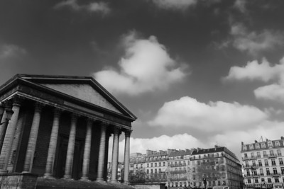 La Madeleine and some of its 52 columns (1764)