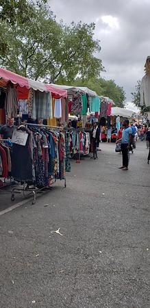 Bazaar across the street