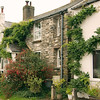 An attractive cottage at the foot of the hill in Bere Ferrers.