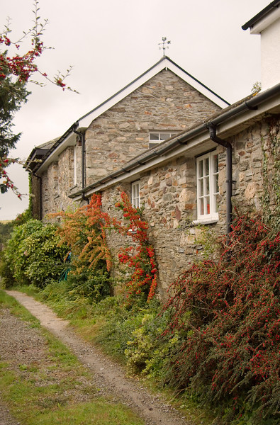 A stone cottage in Bere Ferrers