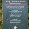 Known locally as King David's Stone, his name was actually Doniert. This is the family Bible location for Richard Alfred Buzza as his birthplace, not Liskerd or St. Cleer or Lower Tremar Combe, or whatever... Beside this tablet are two ancient stones erected to the ancient King of Cornwall, also referred to as Dungarth.
