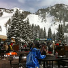 Apres ski from the base of Snowbird.