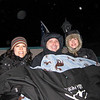 Maddy, Perry, and Shirley in Sleigh while en route to the Viking Yurt.