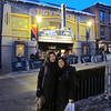 Shirley & Maddy in front of the Egyptian Theater during the Sundance Film Festival, Park City, UT.