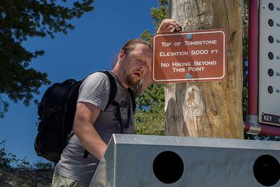 Hiking in Park City, UT