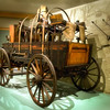 Cody, Wyoming - Buffalo Bill Historical Museum - An Uncovered.Covered Wagon