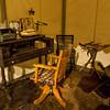 Cody, Wyoming - Buffalo Bill Historical Museum - A Typical Desk Setup for Buffalo Bill