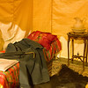 Cody, Wyoming - Buffalo Bill Historical Museum - Typical Bedding in the Old West