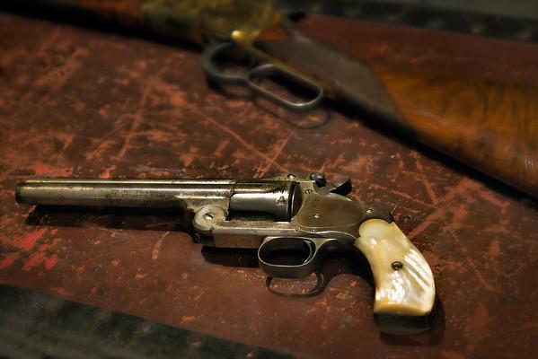 Cody, Wyoming - Buffalo Bill Historical Museum - Buffalo Bill Firearms