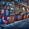 Rapid City - Side Alley Way - Modern Art Trash Area