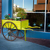 Rapid City, South Dakota - Flower Cart in front of a Store
