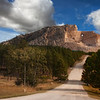 Entrance to Crazy Horse Memorial - Black Hills, South Dakota