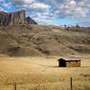 A Log Cabin on the road to Pahaska Tepee