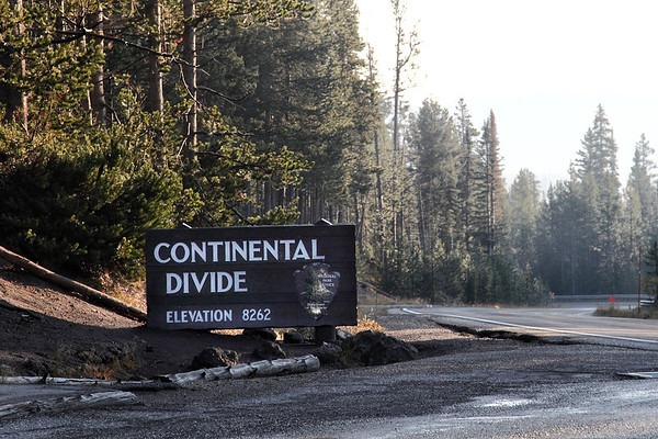 Yellowstone National Park - The Continental Divide