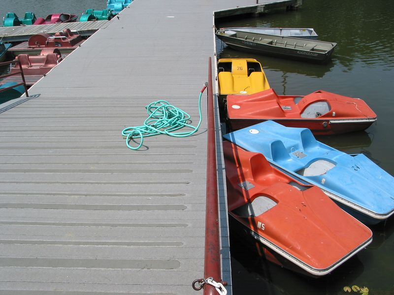Dock with Hose, Centenial Park, Columbia Maryland - June 2003