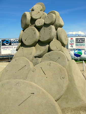 Parksville Sandcastle Competition - Jul 11