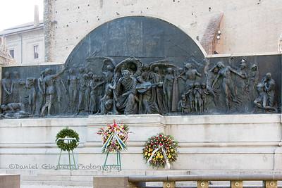 Memorial in the Palazzo della Pilotta