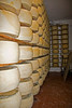 Cheese aging two to three years