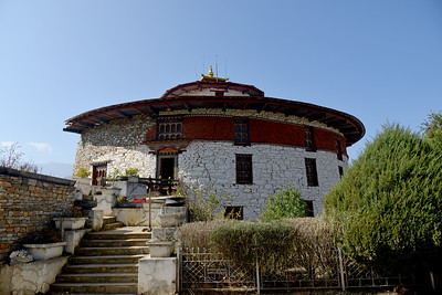 Ta-Dzong Renovation project has taken off with effect from July 1st 2014 and it  is expected to be completed by December 2016 coinciding with the golden jubilee. National Museum of Bhutan is a cultural museum in the town of Paro in western Bhutan. Established in 1968, in the renovated ancient Ta-dzong building, above Rinpung Dzong.
