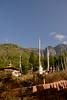 Near Taktsang Monastery (Tiger's Nest). Paro Taktsang  is the popular name of Taktsang Palphug Monastery.