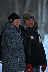 Dan laughing with Tim