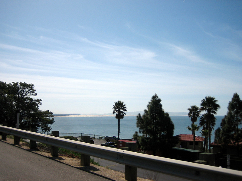 <strong>Friday, March-21</strong>  The following morning, not long after breakfast - certainly before 10:30am – we're on our way again. After another 50 miles down the coast we say farewell to the Pacific Ocean at San Luis Obispo Bay ..