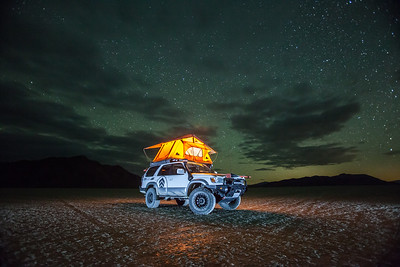 Black Rock Desert off road.