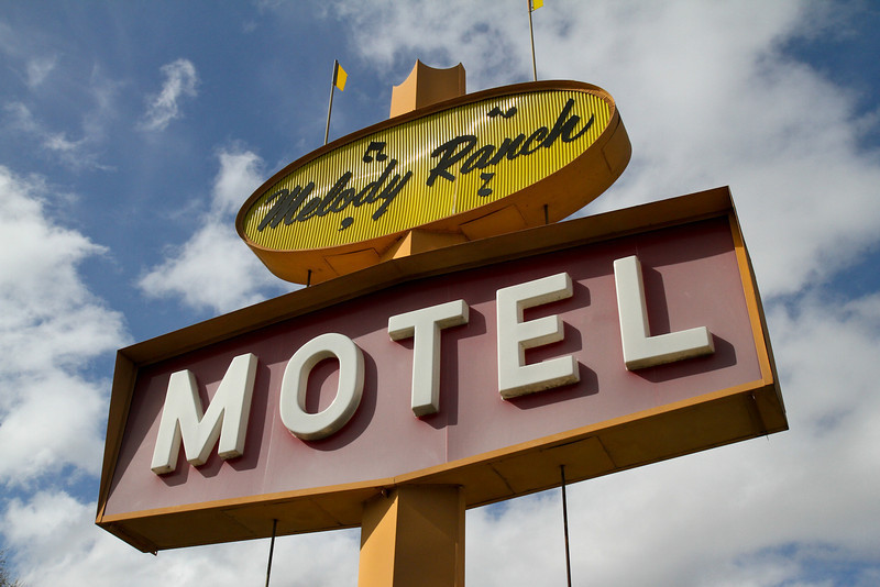 We stay at this motel every year in Paso Robles.  Nice folks.  Funky and affordable.