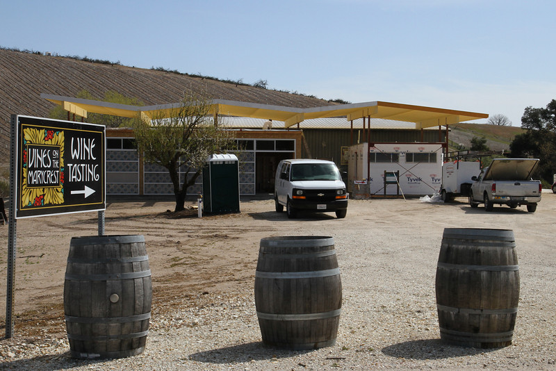 A winery we had never visited- Vines on the Marycrest.  Nice folks.  Ambitious- the husband was building a small concert venue in the front of the building.